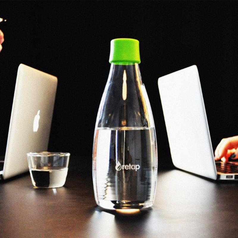 Bouteille en verre Retap 80 cl, bouteille réutilisable design
