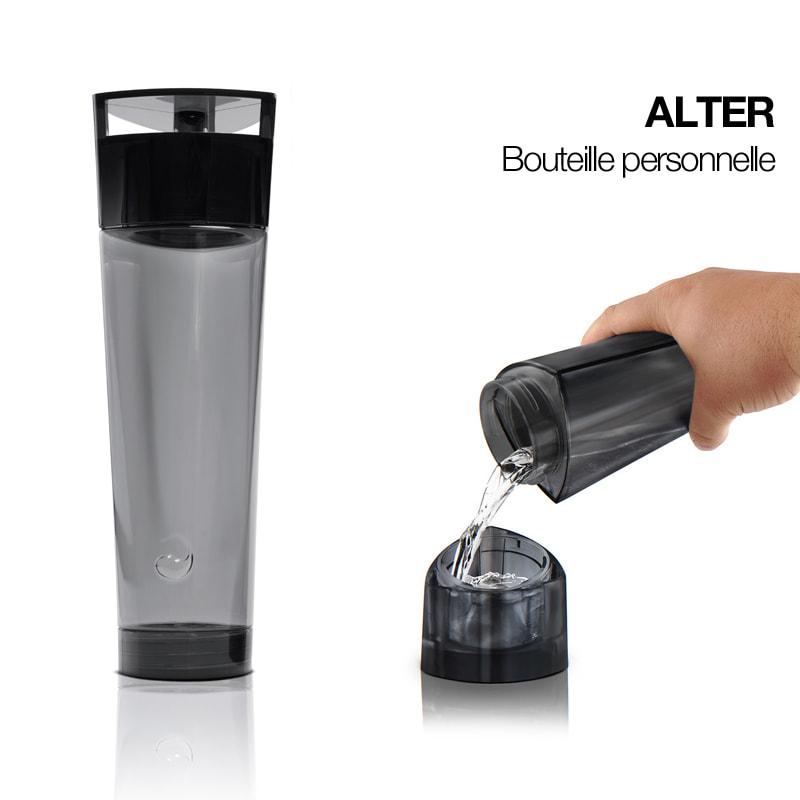 alter bouteille r utilisable de aquaovo pimp my bottle. Black Bedroom Furniture Sets. Home Design Ideas