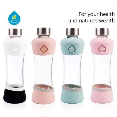 bouteille réutilisable Equa en verre