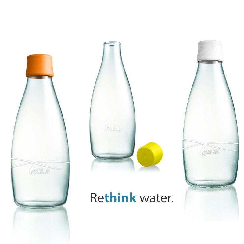 Une carafe d 39 eau design que l 39 on mettre sur table by retap - Carafe filtrante que choisir ...