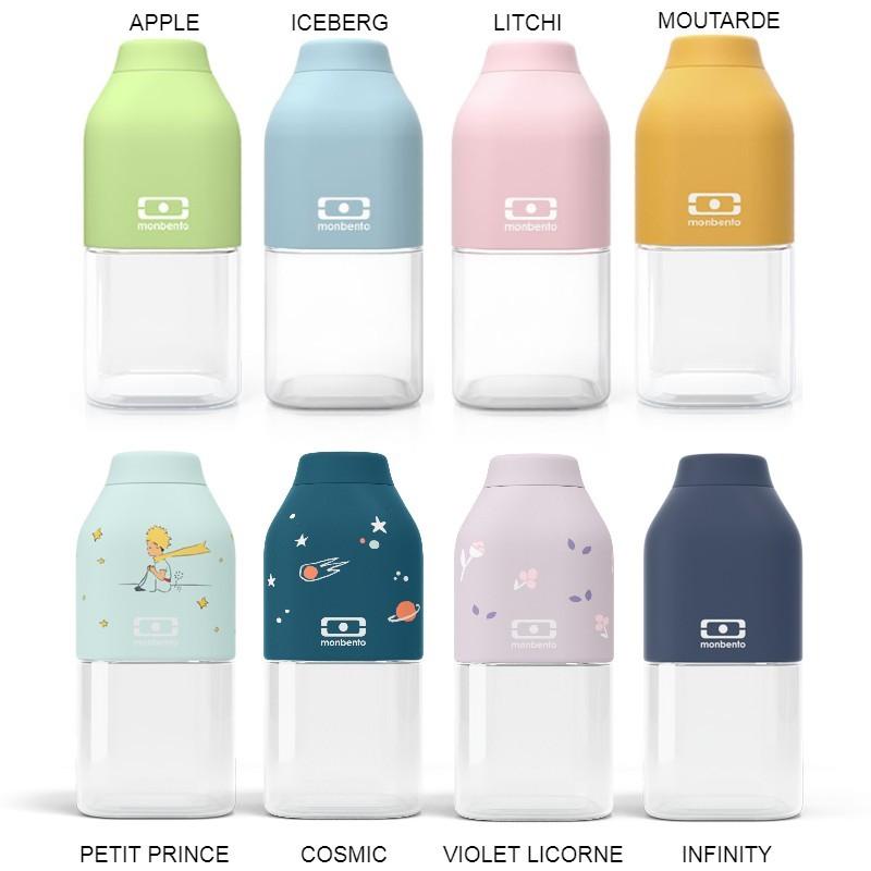 Gourdes compactes et design de Monbento chez pimp-my-bottle