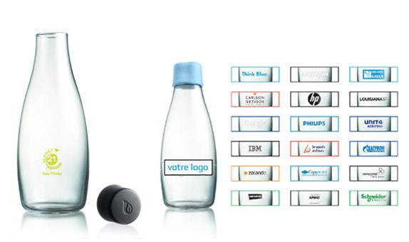 Le plus grand choix de bouteilles publicitaires est sur Pimp my bottle
