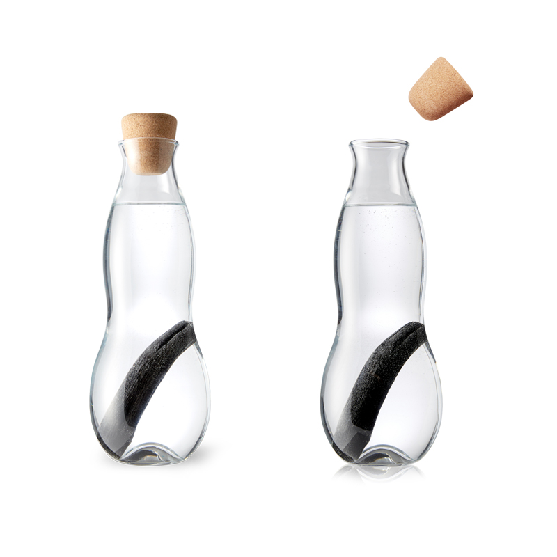 eau carafe carafe d eau filtrante en verre pimp my bottle. Black Bedroom Furniture Sets. Home Design Ideas