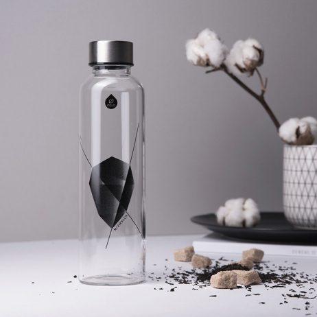 gourde en verre equa pour boire de l'eau de manière saine