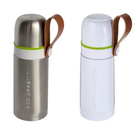gourde thermos de petite contenance, design et fonctionnelle