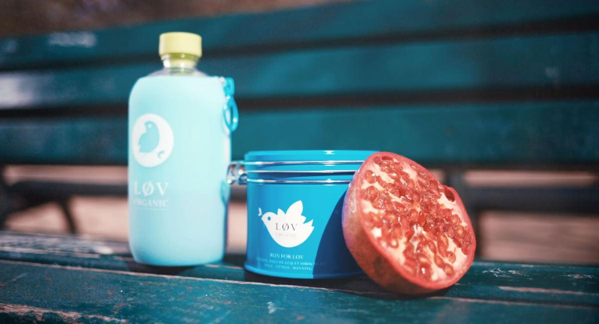 bouteille d'eau Lov organic