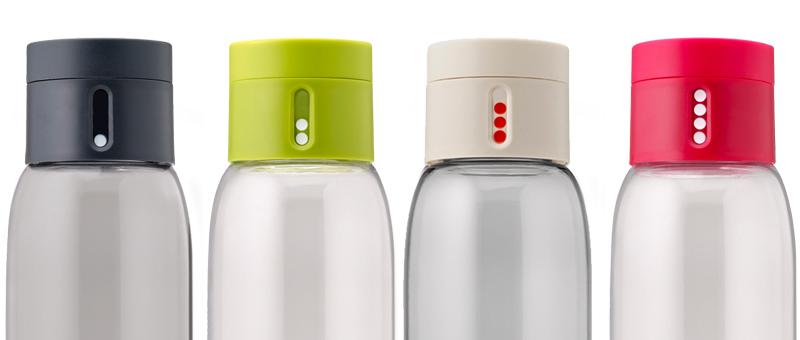Bien-aimé bouteille d'eau qui trace votre hydratation | Pimp My Bottle YV55
