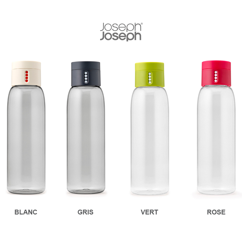 dot bouteille d eau intelligente de joseph joseph pimp my bottle. Black Bedroom Furniture Sets. Home Design Ideas