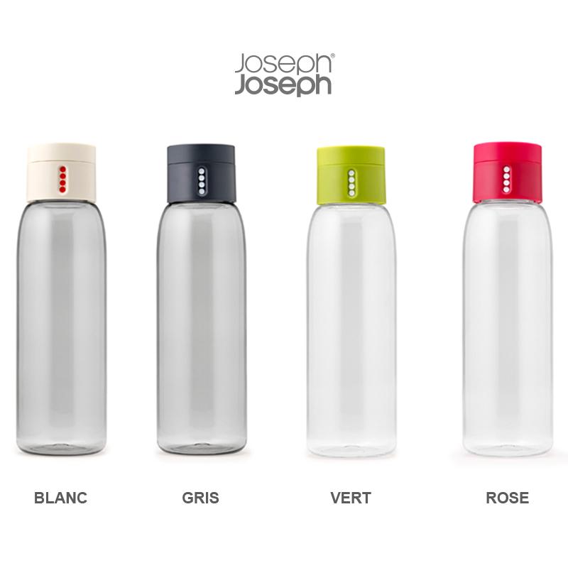 Extrêmement DOT, bouteille d'eau intelligente de Joseph Joseph | Pimp My Bottle TN24