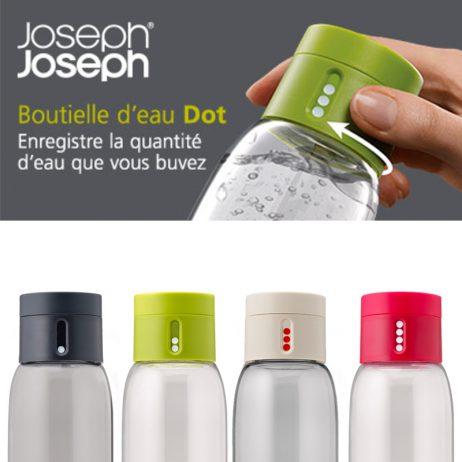bouteilles design pour surveiller votre hydratation