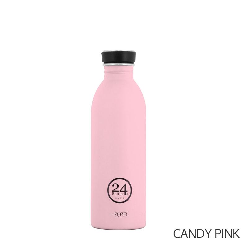 Gourde design rose 24 Bottles
