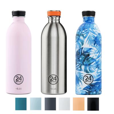 Gourde légère de 1 litre design by 24 Bottles, en inox