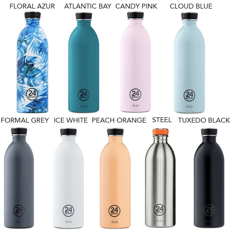 Gourdes légères de 24 Bottles, tendances et pratiques