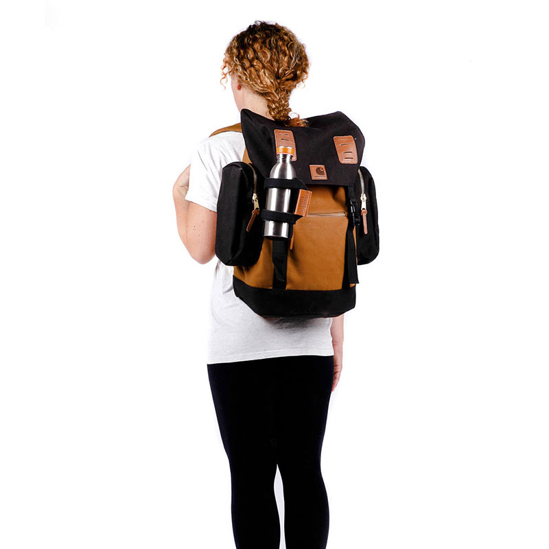 Porte-bouteille avec accroche sac à dos