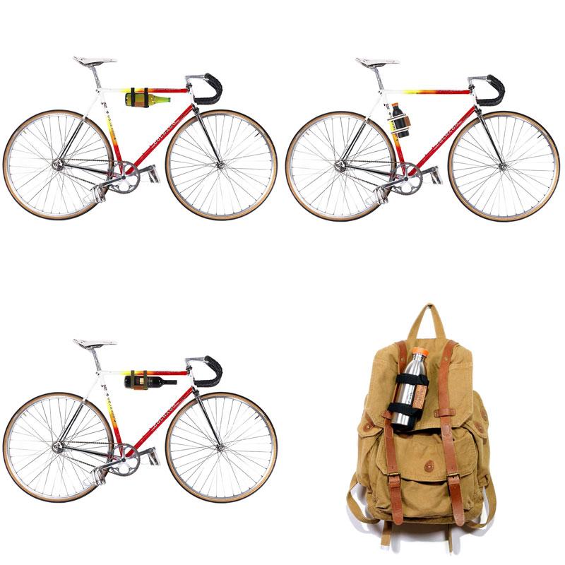 Porte-bouteille design vélo
