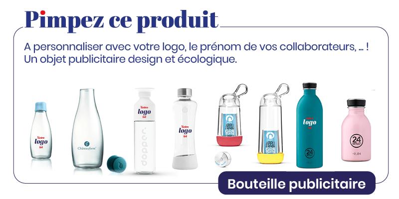 Pimp My Bottle, produit personnalisable, design et écologique
