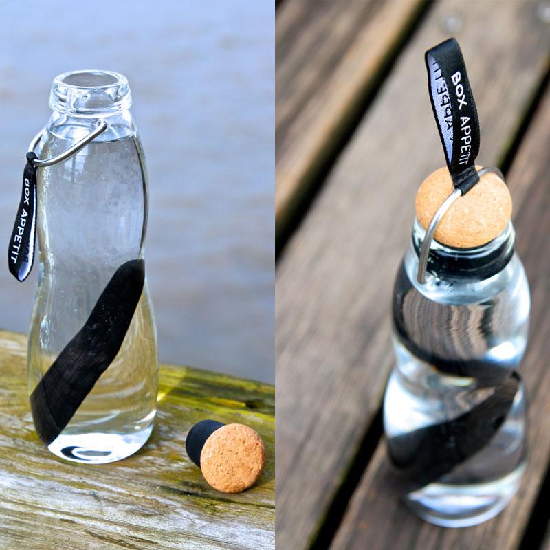bouteilles filtrantes en verre