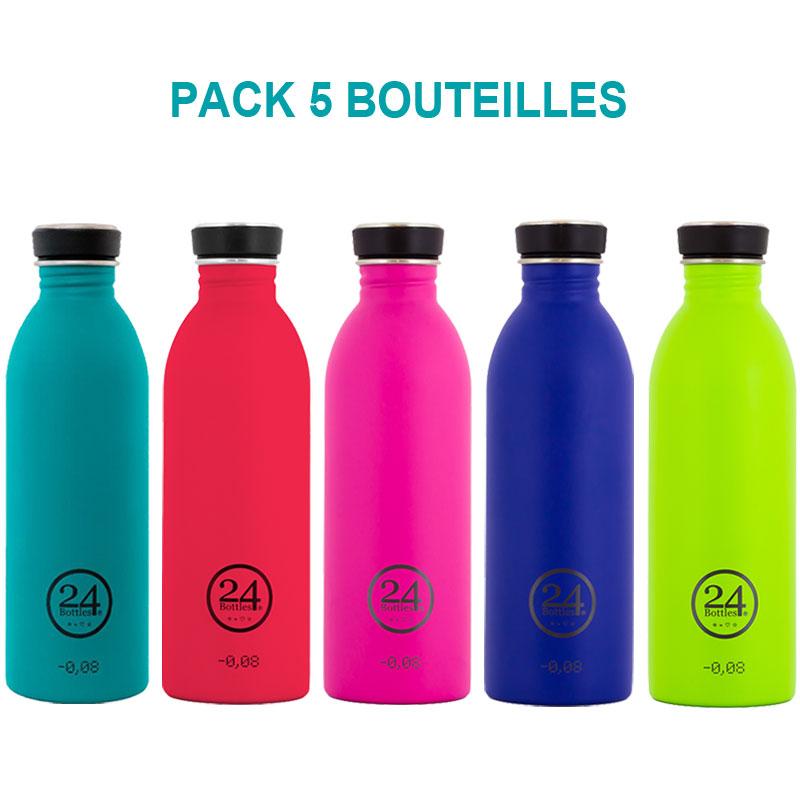 bouteilles inox 24 bottles