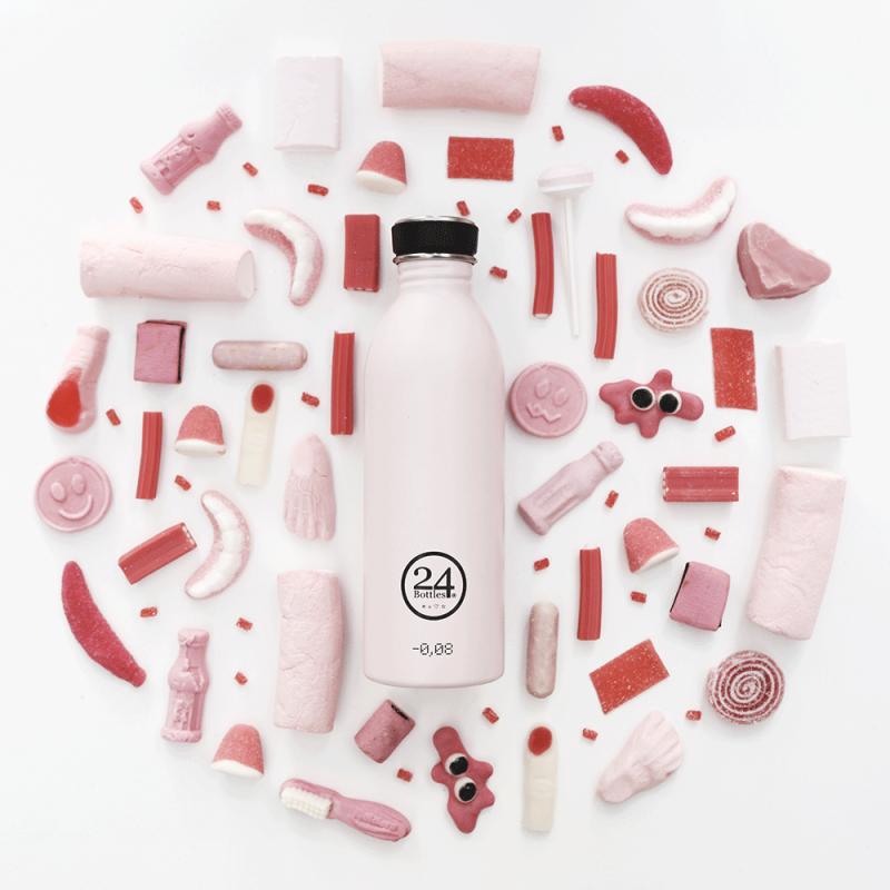 Design 24 Bottles, gourdes réutilisables et légères, smart et tendance