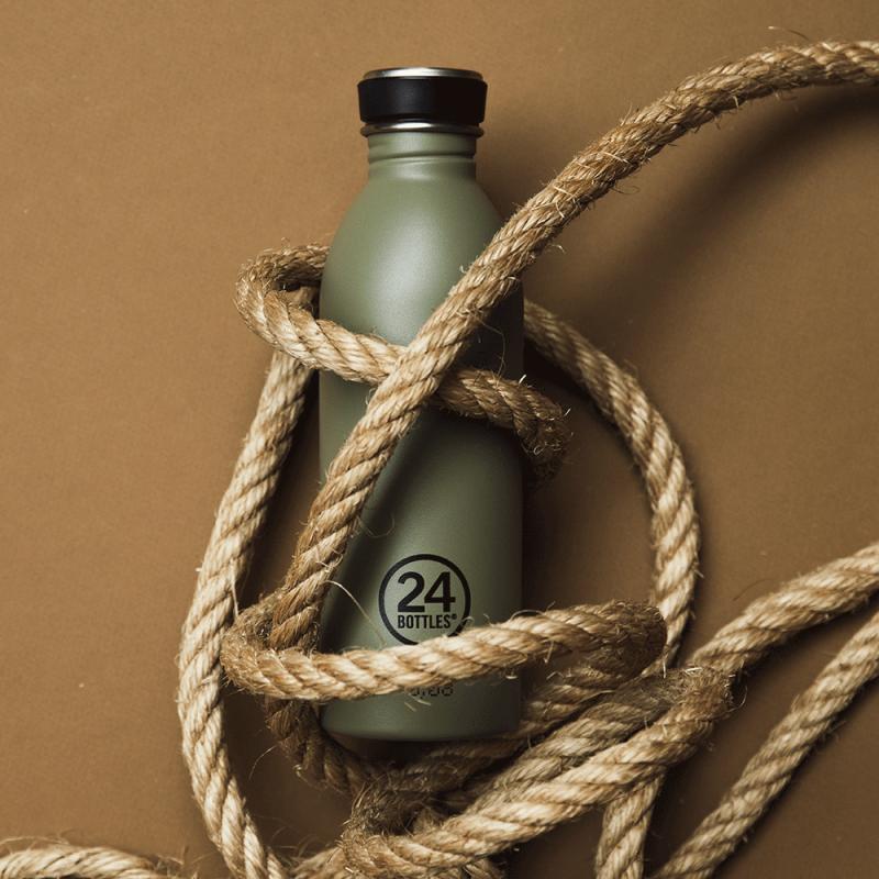 Design by 24 Bottles, n°1 de la gourde en inox, est chez Pimp my bottle