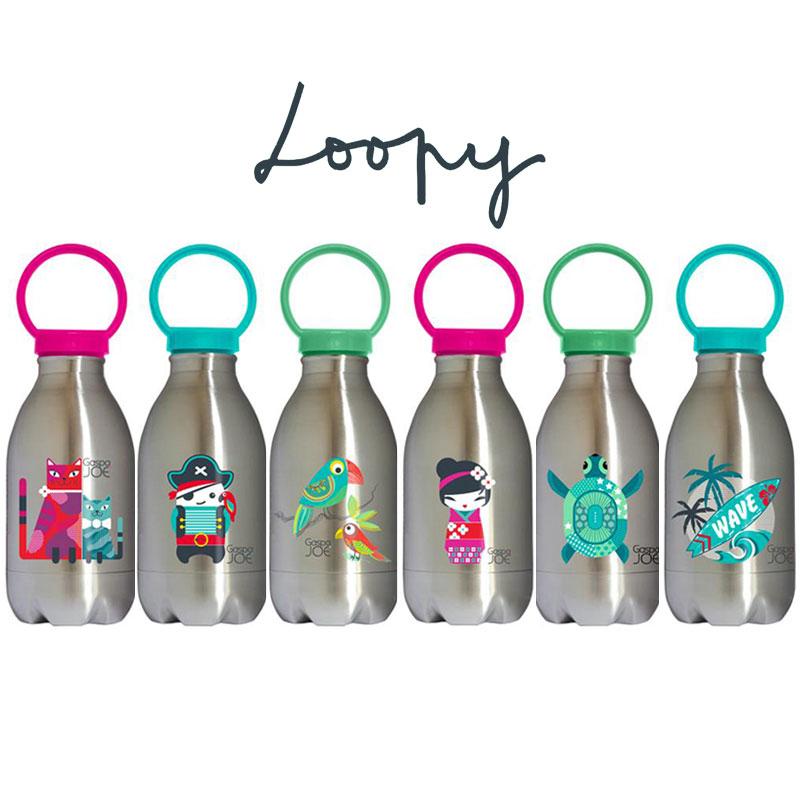 LOOPY, une gourde écologique pour enfant, de Gaspa Joe ...