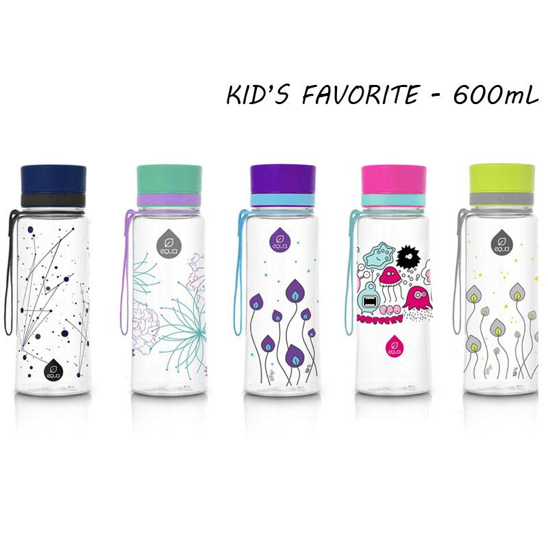 kid s favourite gourdes cologiques pour enfant de equa 600 ml pimp my bottle. Black Bedroom Furniture Sets. Home Design Ideas