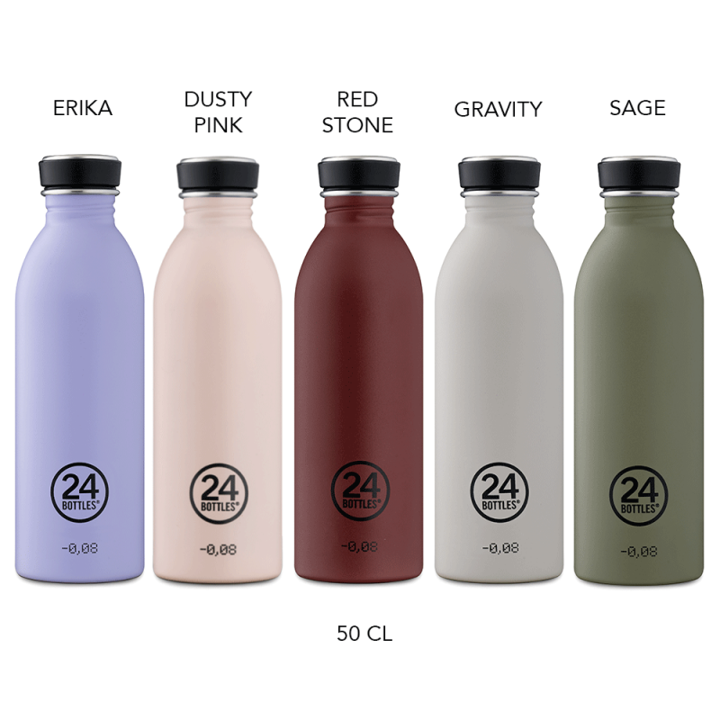 Urban Bottle collection Stone de 50cl, design 24 Bottles