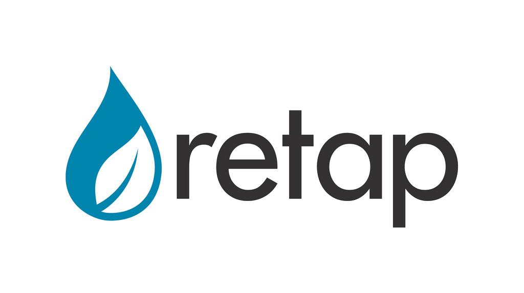 logo Retap bouteille réutilisable