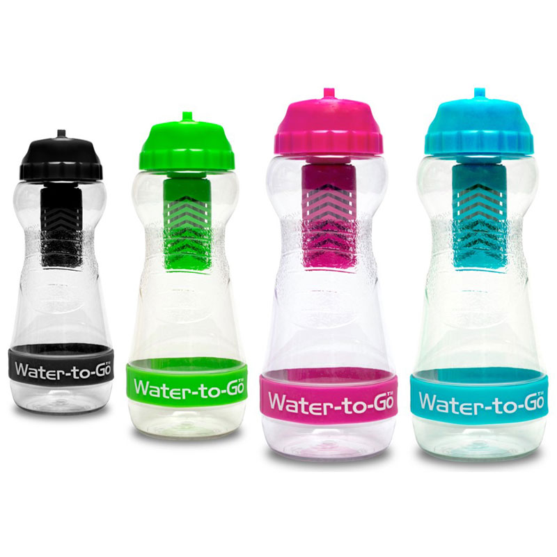 bouteille filtrante water to go city