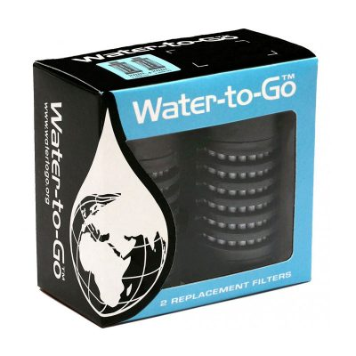filtres de rechange pour gourdes filtrantes water to go outdoor