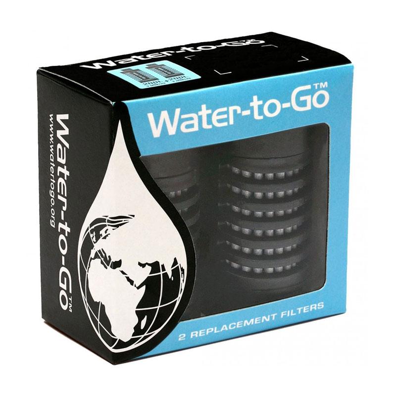 filtres de rechange pour gourdes filtrantes water to go outdoor