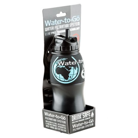 gourde filtrante water-to-go, purificateur d'eau nomade