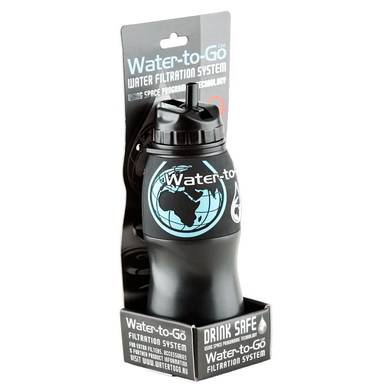 gourde filtrante water-to-go, purificateur d'eau nomade