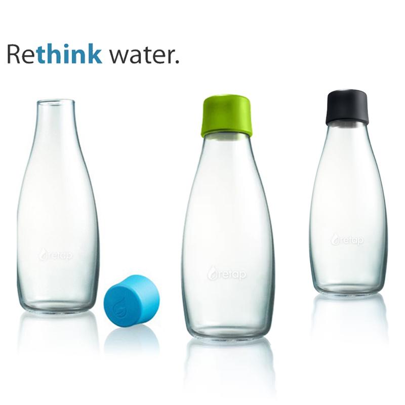 bouteille réutilisable, alternative aux plastiques à usage unique