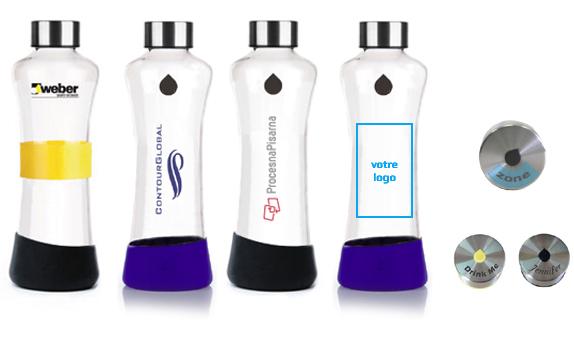 bouteilles réutilisables, alternative aux gobelets jetables
