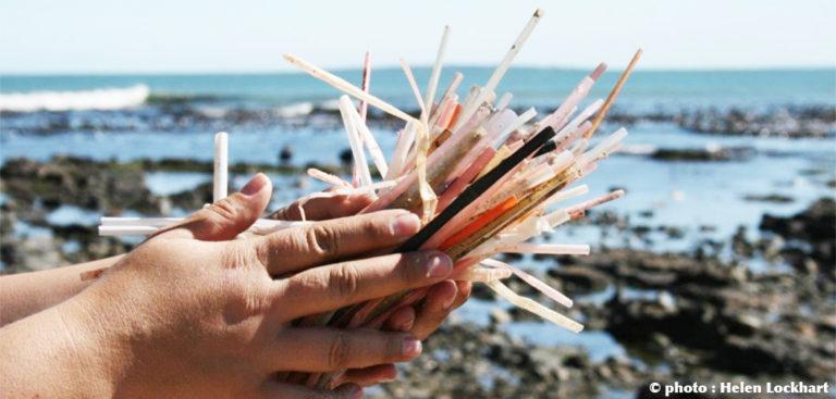 pailles plastique dans les océans, un fléau mondial