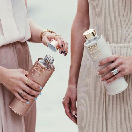 bouteille design avec housse