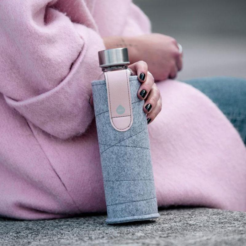 bouteille en verre esthétique, ergonomique et écologique
