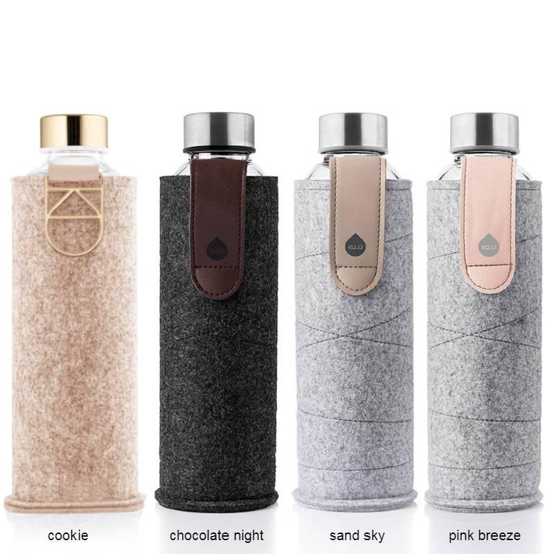 Bouteilles design Equa Mismatch, bouteille écologique et réutilisable