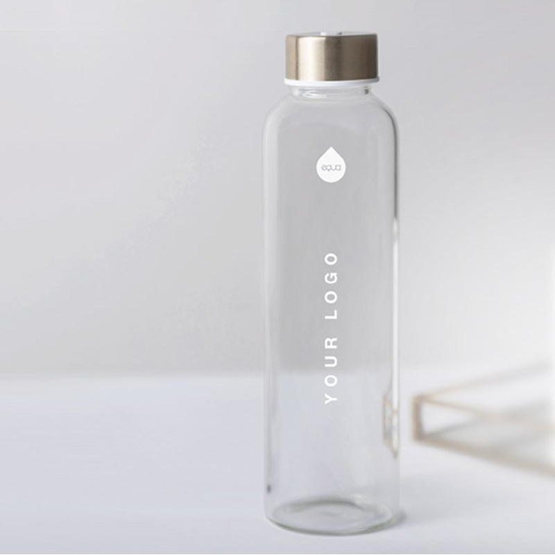 bouteille publicitaire en verre design