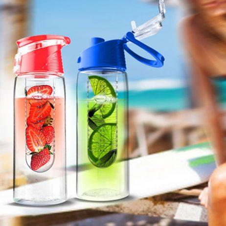 bouteille d'eau avec infuseur