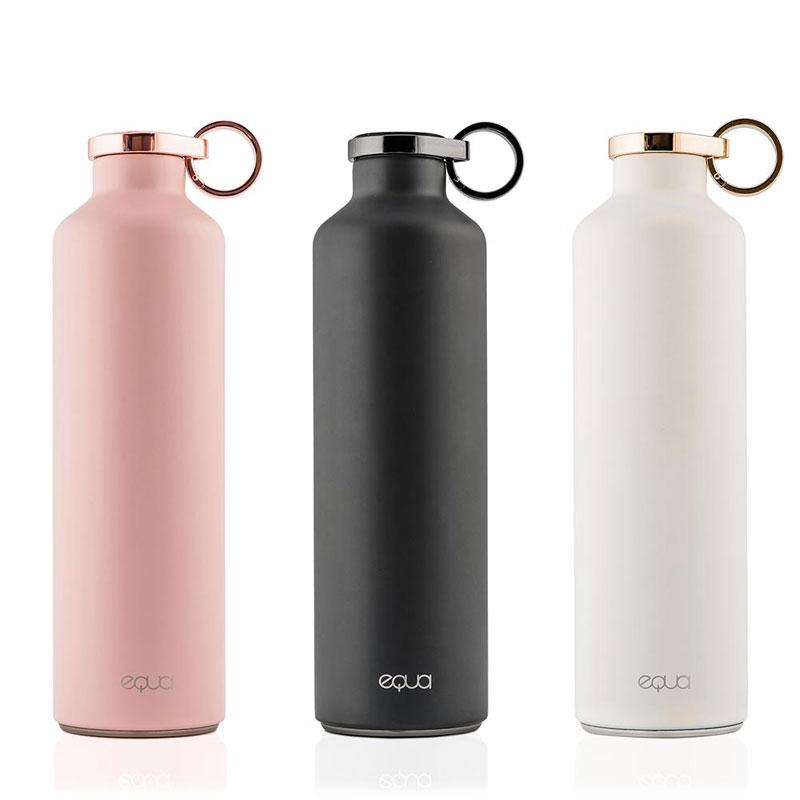 Nouveauté: une bouteille en inox isotherme, chic et personnalisable