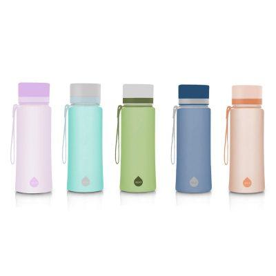Equa Plain colorée, une bouteille réutilisable design de 60 cl
