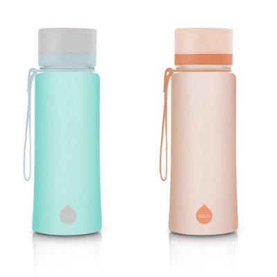 PLAIN Colorée, gourde design en plastique sans BPA - 600 ml