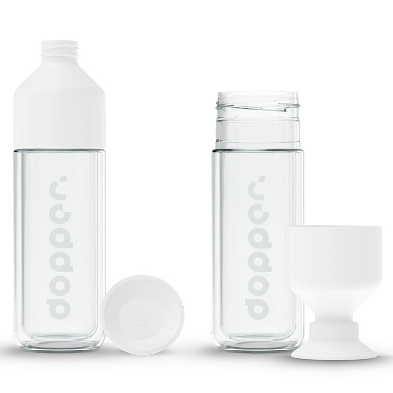 Gourde en verre isotherme Dopper Glass Insulated - 450 ml