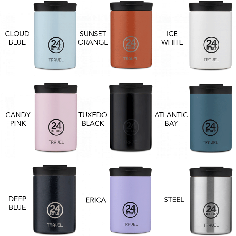 Couleurs mugs thermos 24 bottles