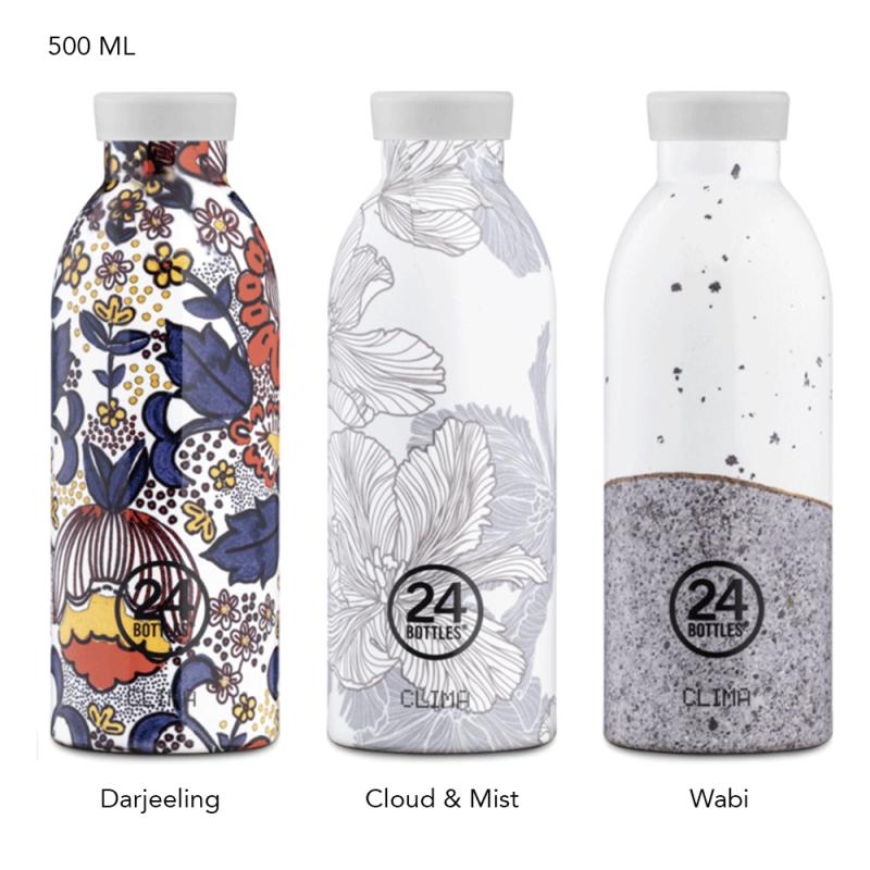 Gourde d'infusion isotherme avec filtre amovible de 24 Bottles
