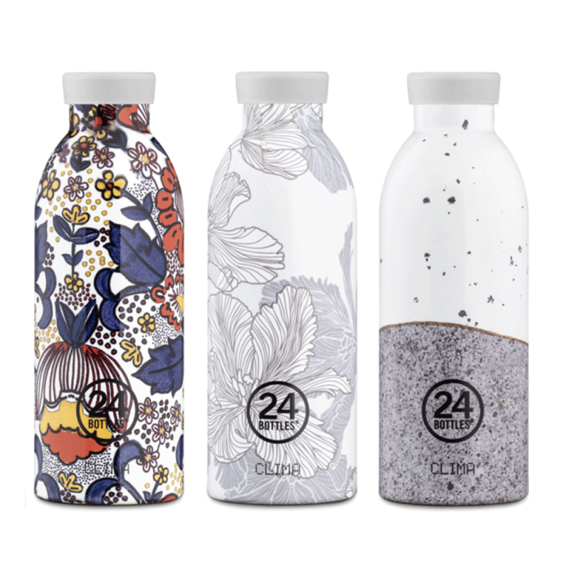 Gourde d'infusion, isotherme, avec filtre amovible, design by 24 Bottles