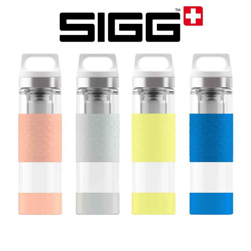 Bouteille avec filtres Sigg pour boissons chaudes ou froides