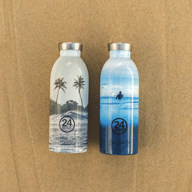 Bouteilles design isothermes pour préserver nos océans, by 24 Bottles